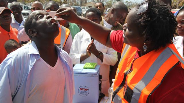 Sobe para oito o número de mortos por cólera em Moçambique