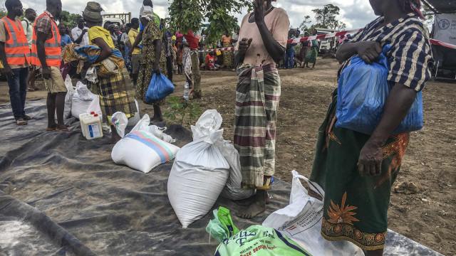 Governo e parceiros criam grupo para acompanhar doações pós-ciclones