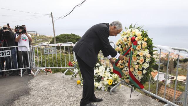 """Marcelo na Madeira deixou três palavras """"em nome de todos os portugueses"""""""