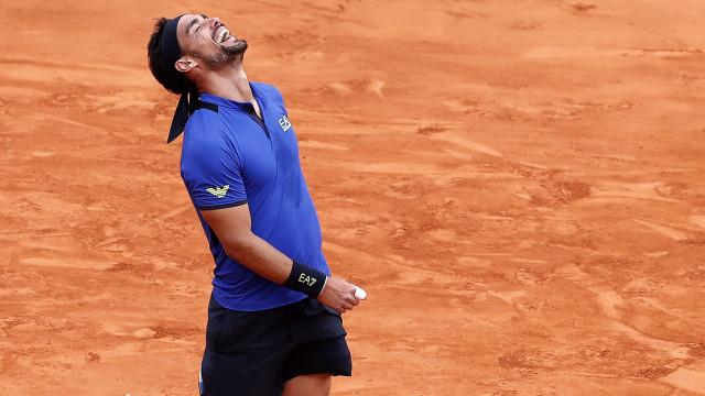 Fognini elimina Nadal e disputa com Lajovic a final em Monte Carlo