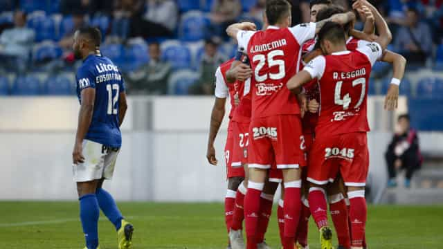 Sp. Braga vence Feirense e continua na corrida ao terceiro lugar