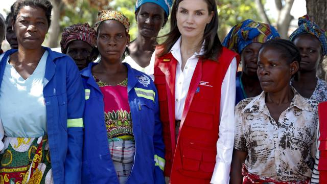 Autarca da Beira convida rainha de Espanha a ajudar na reconstrução