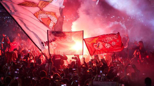 PSP detém 37 pessoas no Marquês de Pombal após vitória do Benfica