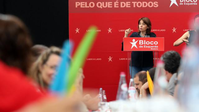 Catarina Martins apela ao voto para proteger pensões