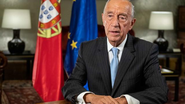 """Não deixem decisão """"nas mãos de 20% ou 25%"""", pede Marcelo aos portugueses"""