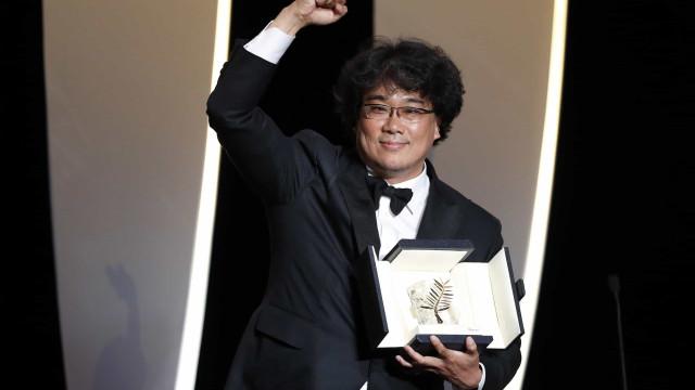 Palma de Ouro de Cannes para 'Parasite' do sul-coreano Bong Joon-ho