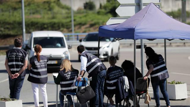 Governo cancela ação do Fisco de controlo a condutores em Valongo