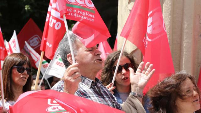 Há manifestação hoje em Lisboa contra a revisão da legislação laboral