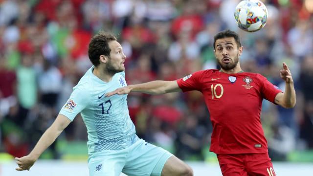 Bernardo Silva vence prémio de melhor jogador da Liga das Nações