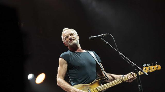 Sting anula concertos por razões de saúde, mas mantém Marés Vivas