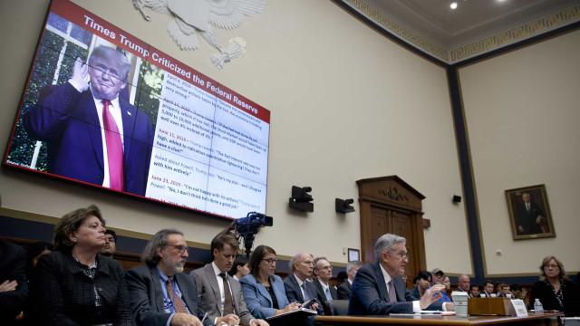 """Presidente da Fed diz que criptomoeda do Facebook suscita """"preocupações"""""""