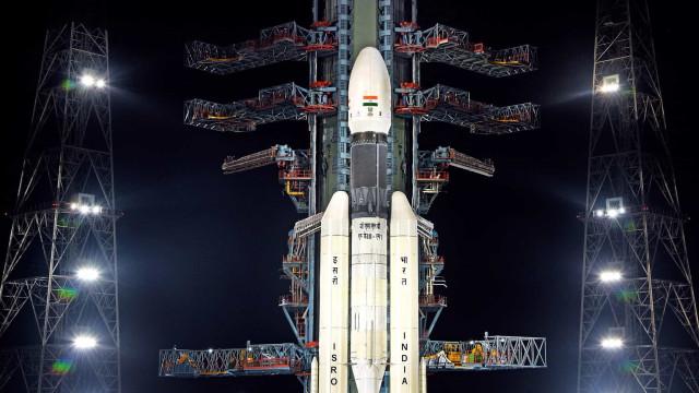 Agência espacial indiana programa missão lunar para a próxima semana