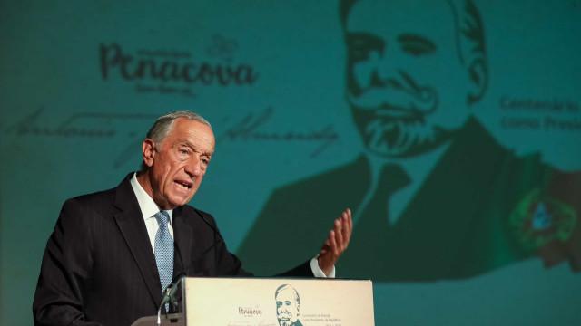 Marcelo defende atualidade de valores de António José de Almeida