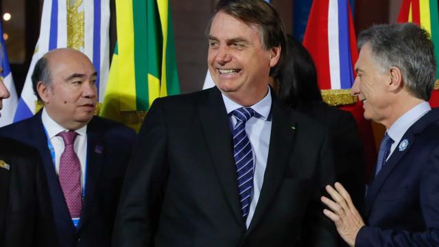 """Bolsonaro diz que """"Portugal é um país irmão"""""""