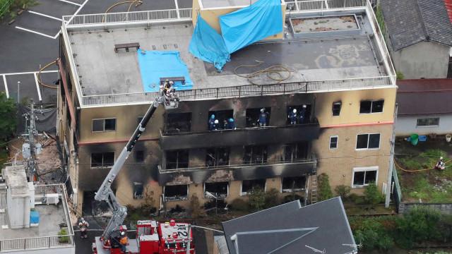 Japão: Balanço de mortos no incêndio em estúdido de animação sobe para 33