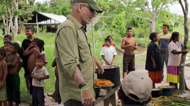 'Rambo' luso vive na selva venezuelana há 25 anos