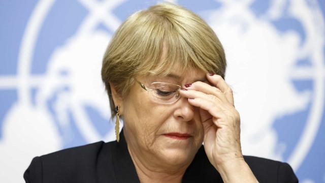 Caracas minimiza atualização do relatório de Bachelet