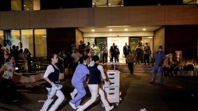 Número de mortos do incêndio num hospital do Rio Janeiro subiu para 11