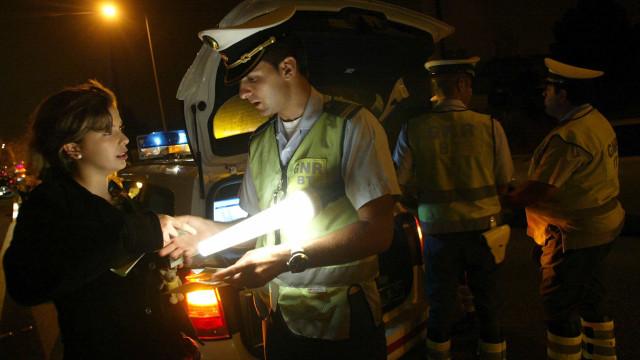 GNR deteve mais de 1.200 pessoas em outubro, mais de 400 com álcool