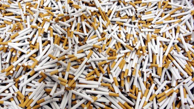 Consumo de tabaco de contrabando está aumentar em Portugal