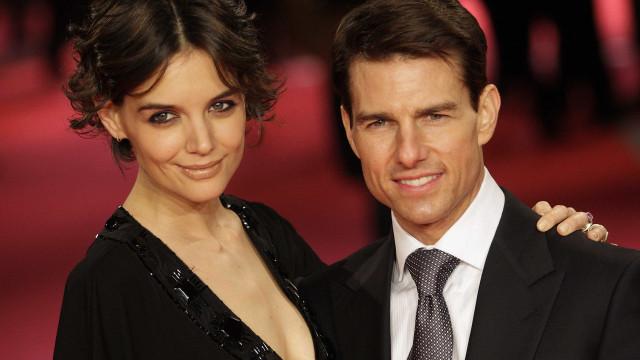 Katie Holmes era obcecada por Tom Cruise antes de o conhecer