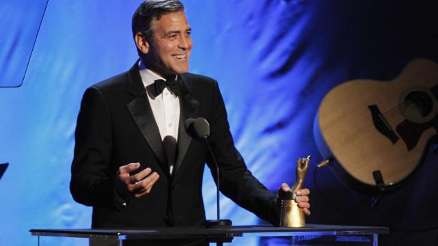 George Clooney fala sobre uma possível candidatura à presidência dos EUA
