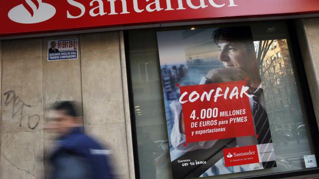 Lucros do Santander em Portugal sobem 15,2% para 263,6 milhões