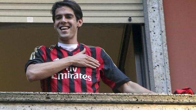 Kaká vai mesmo regressar ao AC Milan