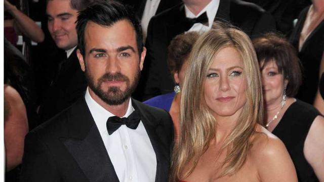 Jennifer Aniston e o ex-marido estiveram juntos no Dia dos Namorados