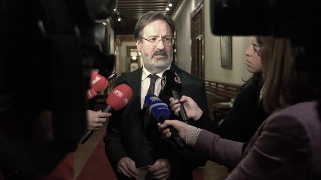 Socialista Alberto Martins diz hoje adeus ao Parlamento