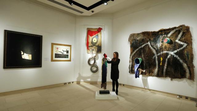 Direção-Geral do Património abre classificação de 85 obras de Miró