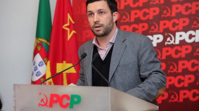 "PCP reitera projeto patriótico anti-NATO e ""cola"" PS a PSD/CDS"