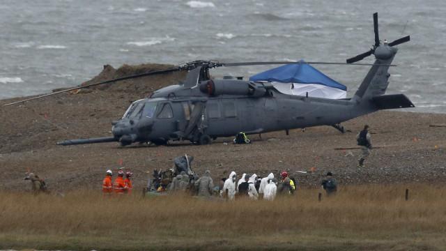 Pelo menos 4 quatro mortos na queda de helicóptero militar no Afeganistão
