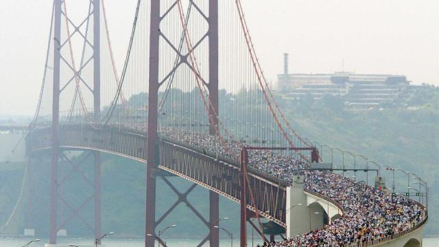 Meia maratona condiciona trânsito entre as 04h00 e as 16h00 de domingo