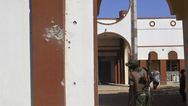 Paraquedistas portugueses regressam a Bambari após confrontos em novembro