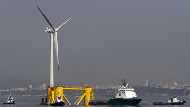 Na Escócia, uma central eólica flutuante promete mudar o mundo energético