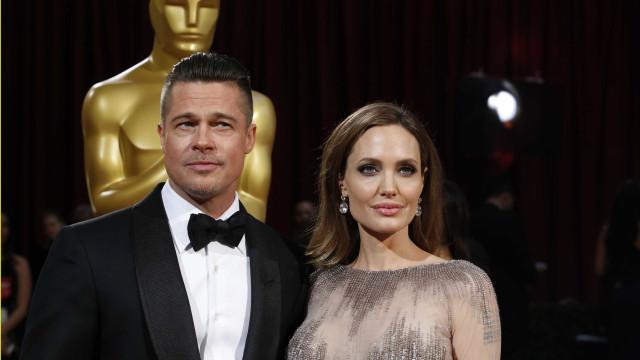 Brad Pitt quer o mínimo contacto possível com Angelina Jolie