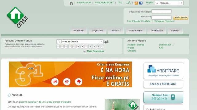 Empresa de máquinas regista o endereço eletrónico 1 milhão no domínio.pt