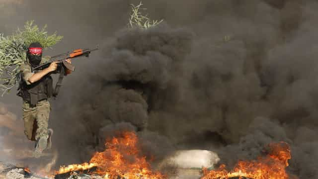 Israel ataca posto do Hamas em Gaza