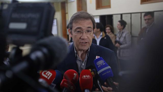 """Passos Coelho defende que PSD será sempre partido """"relevantíssimo"""""""