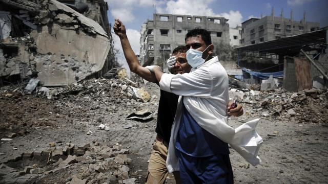 Um palestiniano morto e seis feridos em confrontos na Faixa de Gaza