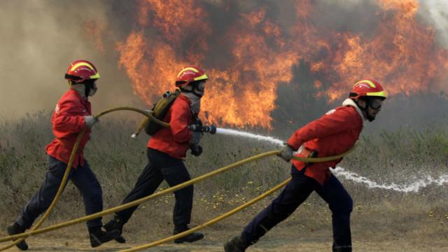 Bombeiros de Castanheira de Pera continuam internados