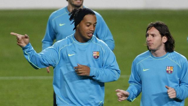 """""""Messi? Mandava-o ir buscar café, buscar água"""""""