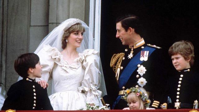 Tiara usada no casamento de Diana e Carlos reciclada em novo enlace real