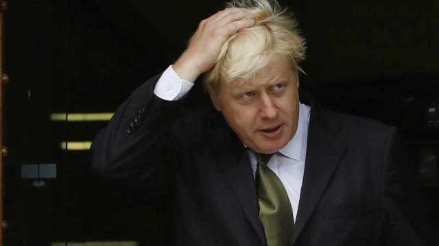 Boris Johnson preocupado com hostilidade da Rússia para com o Ocidente