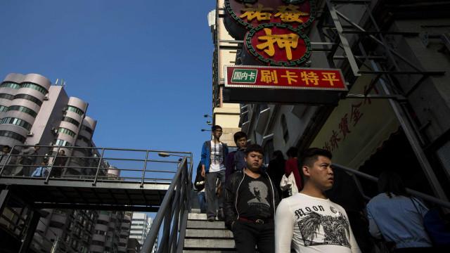 Oito em cada dez ATM de Macau com reconhecimento facial de cartões