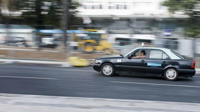 Polícia deteve cinco taxistas por crime de especulação em Lisboa