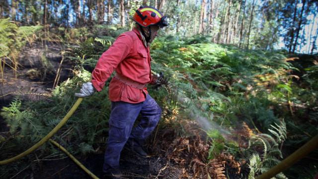 Bombeiros apagam fogo e encontram corpo de idoso carbonizado