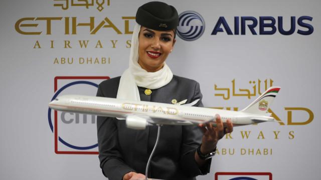 Etihad Airways anuncia prejuízos de 1,59 mil milhões de euros