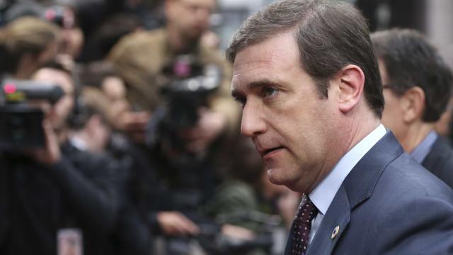 """Passos """"tranquilo"""" quanto a André Ventura e """"posição não racista"""" do PSD"""